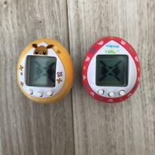 Tamagotchi x Eevee set Yellow Daisuki & Pink Colorful Friends Pokemon used