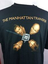Vintage The Manhattan Transfer 1995 T-shirt Jazz Xl Tonin' World Tour