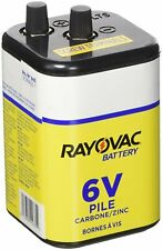 Rayovac Heavy Duty Lantern Battery, 6 Volt Screw Terminals, 945R4