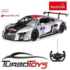 NEW - RASTAR 1/14 RC AUDI R8 LMS RACE CAR - USB CHARGING - AUS STOCK - RTR