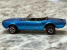 Hot Wheels Redline Custom Firebird Medium Blue Adult Archival Collectors Toy Car