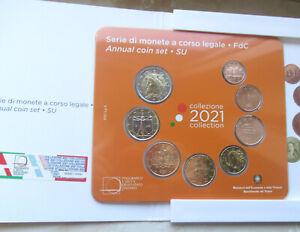 Italien 2021 - offizieller KMS in BU nominal 3,88