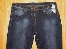 NWT INC INTERNATIONAL CONCEPTS BOOT BLUE JEANS WOMEN'S SIZE 10