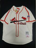 EXCEPTIONAL STAN MUSIAL 1944 MITCHELL & NESS THROWBACK ST LOUIS CARDINALS JERSEY
