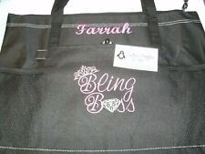 Bling Boss Paparazzi Personalized Tote Bag Jewelry Bag Paparazzi Tote Bag
