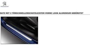Original Peugeot 208 3 Türer Türschwellerschutz Einstieg Aufkleber 1607558280