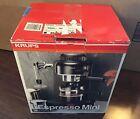 NIB Krups Espresso Mini 963 machine ❀ BLACK cappuccino latte COFFEE MAKER photo