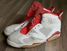 Nike Air Jordan 6 Retro 'Alternate' 384664-113 Mens Sz 12 Hare Infrared DMP