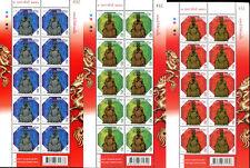 "THAILAND STAMP "" TAI SUI GOD "" CHINESE NEW YEAR - FULL SHEET 2013"