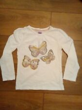 Girls long sleeved top age 6-7