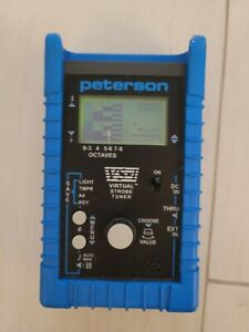 Peterson VS-1 Virtual Strobe Tuner and String Master Automatic Guitar Tuner