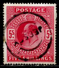 GREAT BRITAIN: 1902 CLASSIC ERA STAMP SCOTT #140 CV $225 SOUND