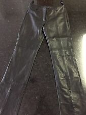 Guess Leather Pants - Size 2 - Black (Lot C)