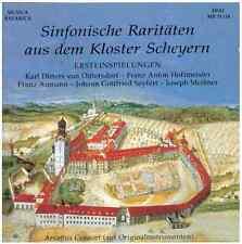 Sinfonische Raritäten aus dem Kloster Scheyern, Ersteinspielungen