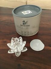 Swarovski Crystal Water Lily Candle Holder Medium A7600Nr123000