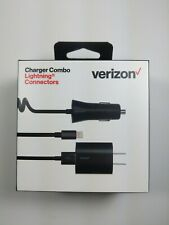 Verizon Car Charger Rapid Wall Charger Combo Lightning - iPhone 6 7 8 Max Pro 11