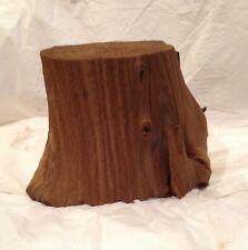 New listing Driftwood Log Pedestal Aquarium Terrarium Natural Decor Taxidermy Crafts