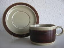 Melitta Heidelberg Ceracron beige braun Kaffeetasse & Untertasse