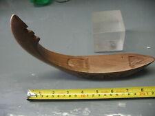 Vintage Carved Hardwood Gondola Incense Holder India Nepal Importers
