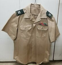 United States Us Military Shirt Size Large Army Tan 8405–00-470-4739