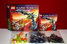 Lego Mars Mission 7693 ETX Alien Angriff, OVP, OBA, BOX, TOP!!!