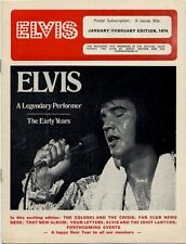 Elvis Presley Fan Club Magazine January/February 1974 CD