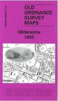 OLD ORDNANCE SURVEY MAP GILDERSOME 1905 LEEDS ADWALTON COCKERSDALE MOOR HEAD