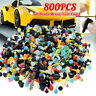 800Pcs Car Plastic Trim Door Panel Retainer Clips Rivet Fastener Mud Flaps Push