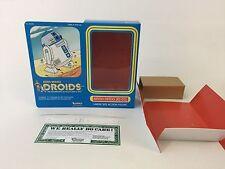 """Custom Vintage Star Wars Droiden 12"""" r2-d2 Box + Beilagen"""