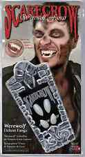 Werewolf Deluxe Fangs Halloween Teeth SCARECROW WF107 Wolf Uppers & Lowers