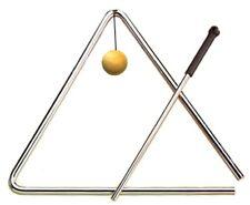 "Toca Hand Percussion T-Tri5 5"" Chrome Professional Triangle w/Beater & Holder"