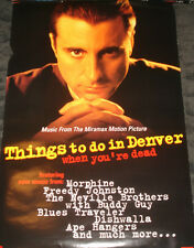 Things to do in Denver When You're Dead Movie soundtrack promo Poster