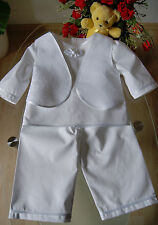 Taufanzug/Taufkleid-Hose,Tunika, aus Baumwolle, Junge !! Gr.62 bis 86