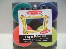 Melissa & Doug Finger Paint Set #4146 NIB!