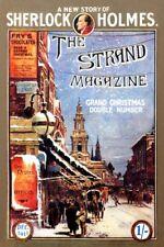 Sherlock Holmes 12x8 impresión, Strand Revista Portada 1911 Navidad, Londres
