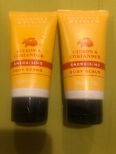 Crabtree & Evelyn CITRON & CORIANDER Energizing BODY SCRUB 1.7oz New Lot Of 2