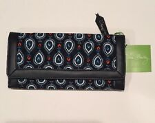 Vera Bradley Marrakesh Motifs Trifold Wallet Quilted New NWT 14772 - 200951