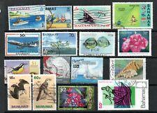 Bahamas QEII 1969-2006 to $2 used