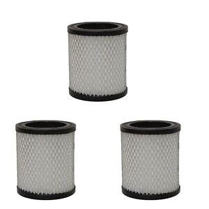 Grafner® 3x HEPA Filter Feinstaubfilter Feinfilter Feinstaub Kaminsauger Asche