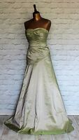 New Womens Victorian Style Dress Evening Prom Beaded Ball Gown Mermaid UK 6