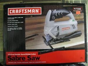 Craftsman Sabre Saw, 2.8Amp, Variable speed, orbital action