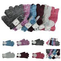 Ladies Magic Glove Winter Soft Knit One Size Warm Fashion Women Casual Unisex