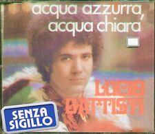 """LUCIO BATTISTI """" ACQUA AZZURRA ACQUA CHIARA """" CD's SINGOLO NUOVO BMG RICORDI"""
