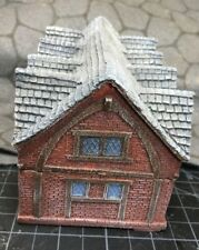 15 mm European Timber Frame Brick Town Hall Unpainted building Miniature