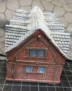 15 mm European Timber Frame Brick Town Hall Unpainted building Miniature