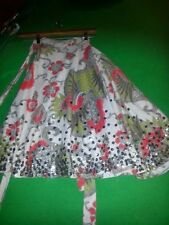 Floral Plus Size 100% Cotton Skirts for Women