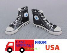 "1/6 Converse All Star Sneakers Shoes For 12"" Hot Toys Phicen Male Figure ❶USA❶"