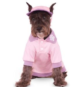Rubies Costume Pink Polo Shirt Pet Costume, XX-Large 2XL