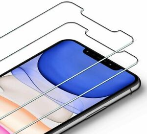 1 PACK Tempered Glass Screen Protector For Apple iPhone 11 12 Pro XS Max XR XS