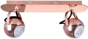 Moderner Spot Wandleuchte Nicola Rotes Kupfer LED  Flur Küche Tisch Italux NEU